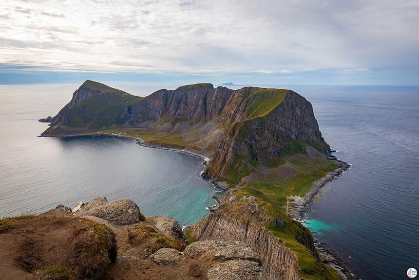 Vandring till Måhornet på Værøy